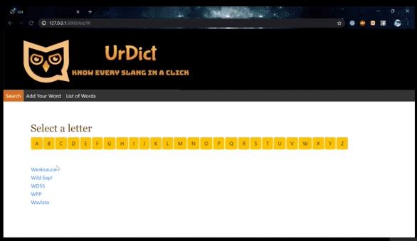 UrDict