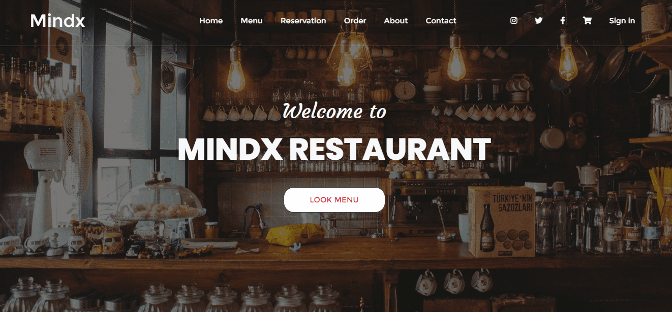 MindX Restaurant