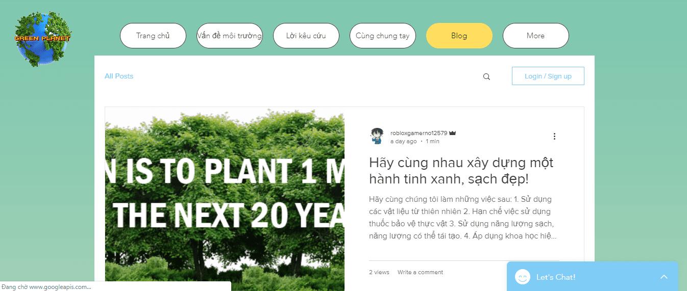 Green planet -  Đức Anh, Phương Anh, Bảo Hân, Thái An