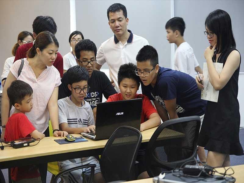 Học lập trình ios cho trẻ em tại Mindx