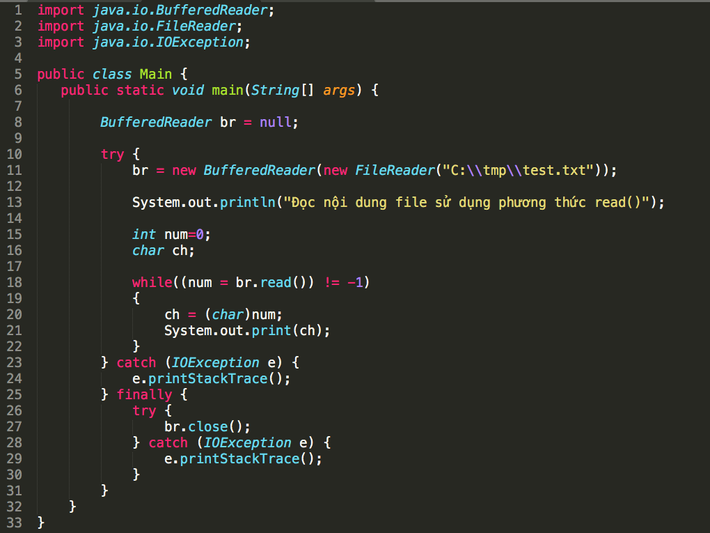 Tìm hiểu về lập trình hướng đối tượng Java