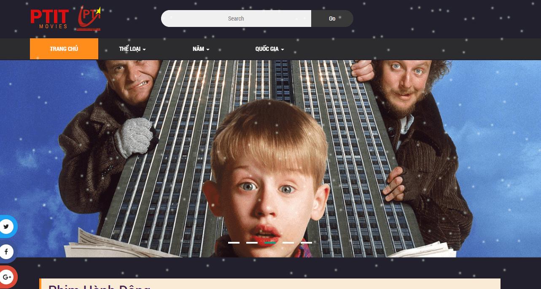 PTIT Movie - Thiết kế web xem phim